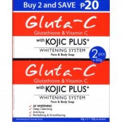 Gluta-C Kojic Plus + Savon X2