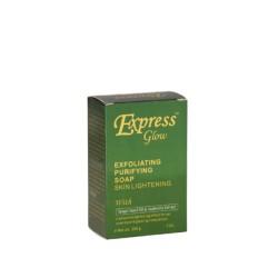 Express Glow Savon Exfoliant Purifiant Eclaircissant